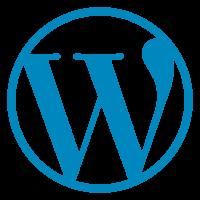 wordpress logo - Home page